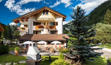 Hotel Bel Sit a Corvara vacanze estate